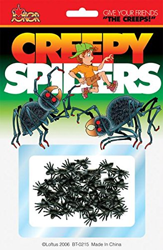 Creepy Spiders - 1