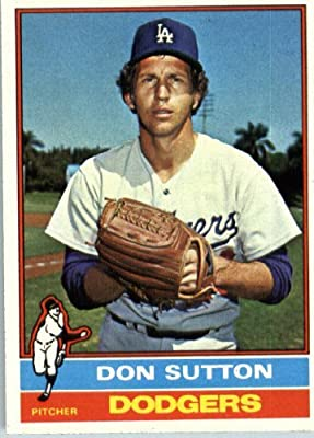 1976 Topps #530 Don Sutton Los Angeles Dodgers Baseball Card
