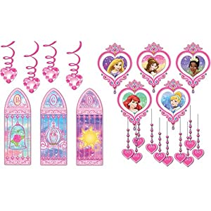 Disney Princess Party Room Decorating Kit 22 Items Per Pack
