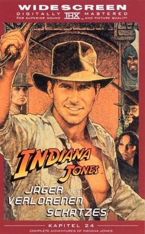 Indiana Jones - Jäger des verlorenen Schatzes (THX/WS) [VHS]