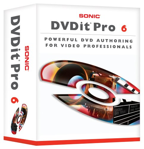 DVDit 6 Pro with eDVD 4