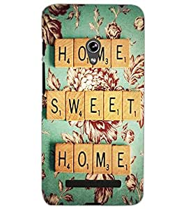ASUS ZENFONE 5 HOME SWEET HOME Back Cover by PRINTSWAG