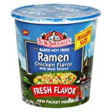 Dr. McDougall's Right Foods Chicken Flavor Ramen, 2.1-Ounce Cups (Pack of 6)