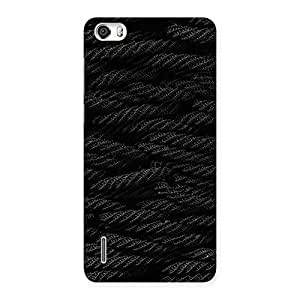 Rope Pattern Back Case Cover for Honor 6