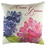Evans Lichfield 17 x 17-inch K/E Home Grown Hydrangea Filled Cushion