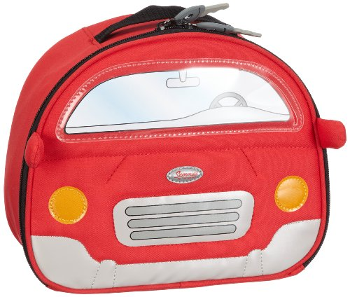Samsonite Lunchbox MY FIRST SAMSONITE LUNCH BOX CARS RED