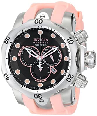 Invicta Men's 14005 Venom Analog Display Swiss Quartz Pink Watch