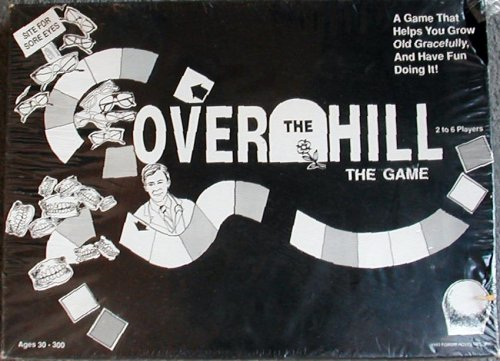 Over The Hill Board Game from 1993