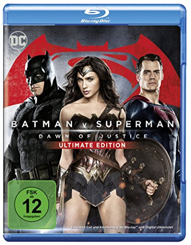 Batman v Superman: Dawn of Justice - Ultimate Edition [Blu-ray]
