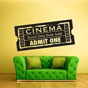 Wall vinyl sticker decals decor art bedroom - Stickers cinema mural ...