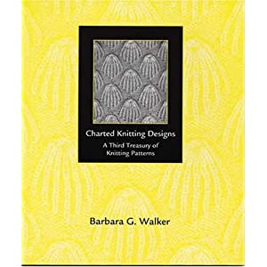 Charted Knitting Designs: A Third Treasury of Knitting Patterns [Paperback]