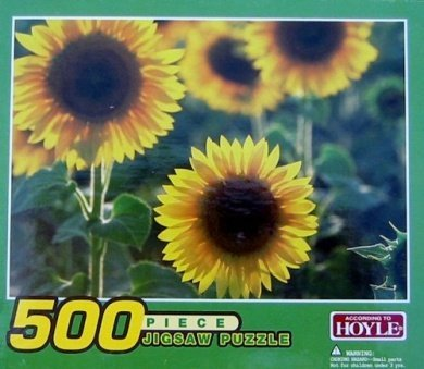 Sunflowers 500 pc. Jigsaw Puzzle #5501 - 1