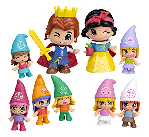 Pinypon - Pack figuras Blancanieves y 7 enanitos (Famosa 700012750)