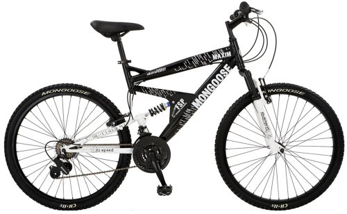 Mongoose Maxim Dual-Suspension Mountain Bike (26-Inch Wheels)