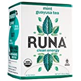 RUNA Amazon Guayusa Tea Box, Mint, 16 Tea Bags, 1.13 Ounce