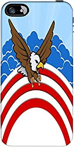 Snoogg Bald Eagle 4Th Of July Vector Theme Design Designer Case Cover For App...