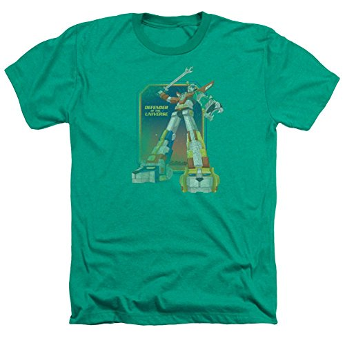 Heather: Voltron Distressed Defender T-Shirt