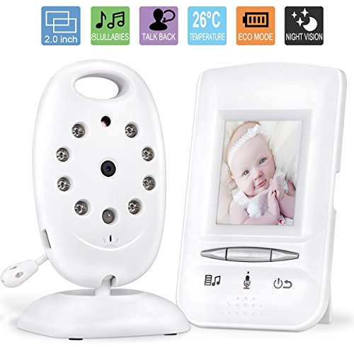 Video Baby Monitor,GOODEE 2.0