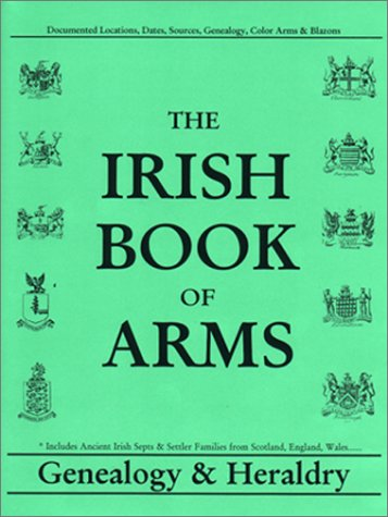 Irish Book of Arms Genealogy Heraldry (Hardcover)