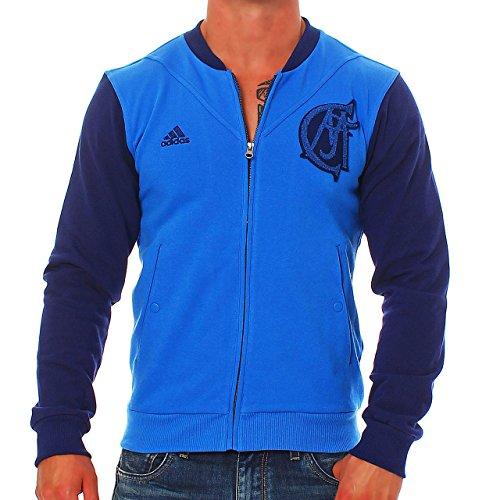 adidas -  Giacca sportiva - Uomo blu Small