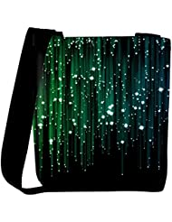 Snoogg Laser Shower 2404 Womens Carry Around Cross Body Tote Handbag Sling Bags