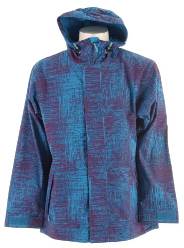 Sessions Truth Ski Snowboard Jacket Grape Scratch Sz XL