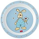 Sigikid Semmel Bunny Plato de melamina (21,5x 21,5x 2,5cm)