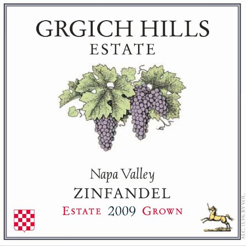 Grgich Hills Estate 2009  Napa Valley Zinfandel 750 mL