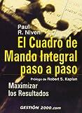 img - for El Cuadro de Mando Integral Paso a Paso (Spanish Edition) book / textbook / text book