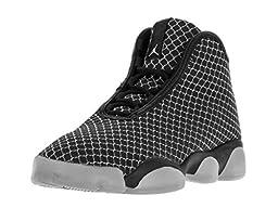 Nike Jordan Kids Jordan Horizon BG Black/White Basketball Shoe 4.5 Kids US