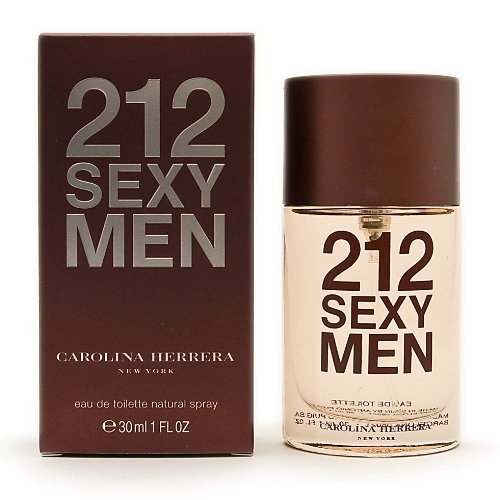 212 Sexy Men by Carolina Herrera Eau de Toilette Spray 30ml