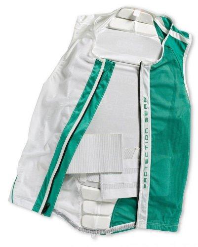 Alpina Protector Jacket Soft (Größe: L = Körpergröße ca. 178-184 cm, Farbe: 14 weiß/grün)