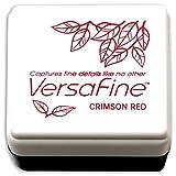 Tsukineko Small-Size VersaFine Instant Dry Pigment Ink, Crimson Red (Color: Crimson Red)