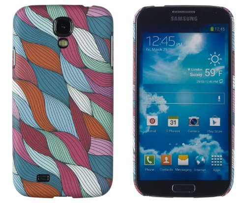 Premium Colorful Stained Glass Swirl Slim Hard Case For Samsung Galaxy S4, I9500 - [Retail Packaging By Dandycase With Free Lcd Screen Cleaner]