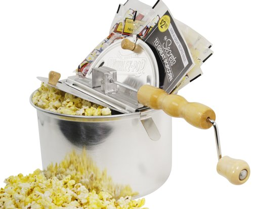 Whirley-Pop Theater Gift Set with Stovetop Popcorn Popper