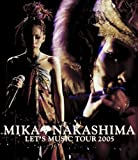 中島美嘉 DVD 「MIKA NAKASHIMA LET'S MUSIC TOUR 2005」