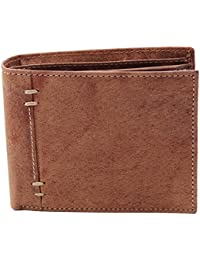 Lens Brown Genuine Leather Wallet For Man LW-006