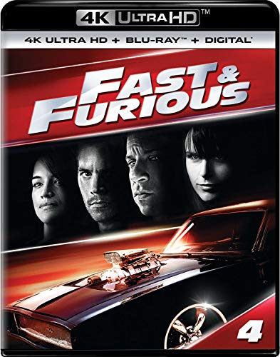 4K Blu-ray : Fast & Furious (2009) (2 Discos)