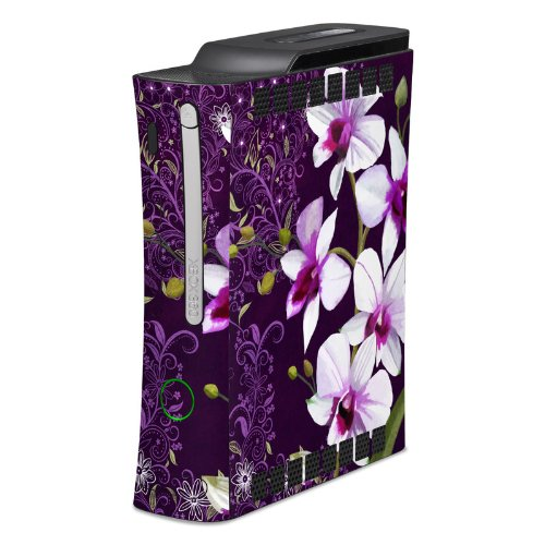 Violet Worlds Full Body Design Protective Skin Decal Sticker For Xbox 360 Console front-573887
