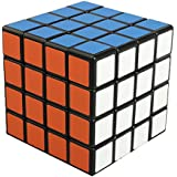 QMH-JPスピードキューブ 立体パズル2~10階立体キューブ ポップ防止立体キューブ スムーズ回転キューブ 競技用パズルキューブ -Shengshou (黒素体) (4x4x4四階)