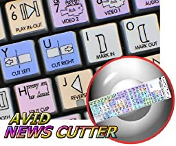 AVID NEWS CUTTER GALAXY SERIES KEYBOARD LABELS 12X12 SIZE