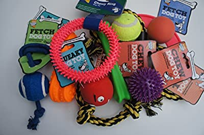 Bargain Dog Toy Assortment - Pack Of 11 Assorted Armitage Good Boy Dog Toys
