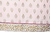 Saffron Threads White Gold Printed Kurta