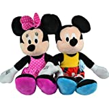 DISNEY MICKEY MOUSE PLUSH TOY SOFT CUDDLY KIDS MINNIE DOLL TEDDY BEAR BOYS GIRLS (MINNIE MOUSE)