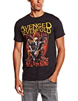 Avenged Sevenfold Men's New Day Rises Short Sleeve T-Shirt