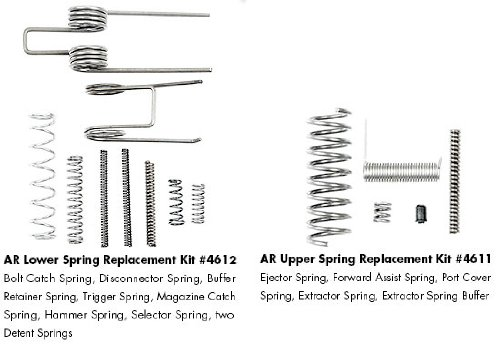 Check Out This ERGO AR-15 Upper & Lower Spring Replacement Kit