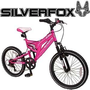 "MuddyFox Athena 20"" Dual Suspension Bike - Girls's (Pink)"