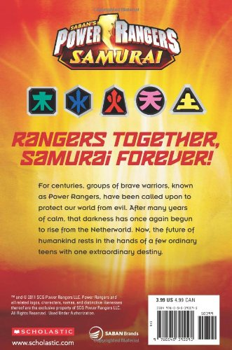 Meet the Rangers (Scholastic Readers: Power Rangers Samurai)