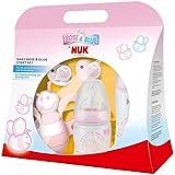 NUK 10260192 - Baby Rose Startset mit zwei Trinkflaschen