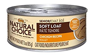 NATURAL CHOICE Senior Soft Loaf Chicken Recipe - 3 oz.  pack of 24